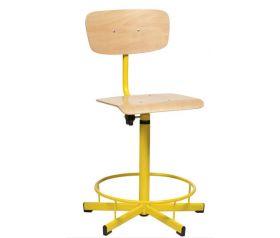 chaise scolaire de laboratoire lor mab. Black Bedroom Furniture Sets. Home Design Ideas